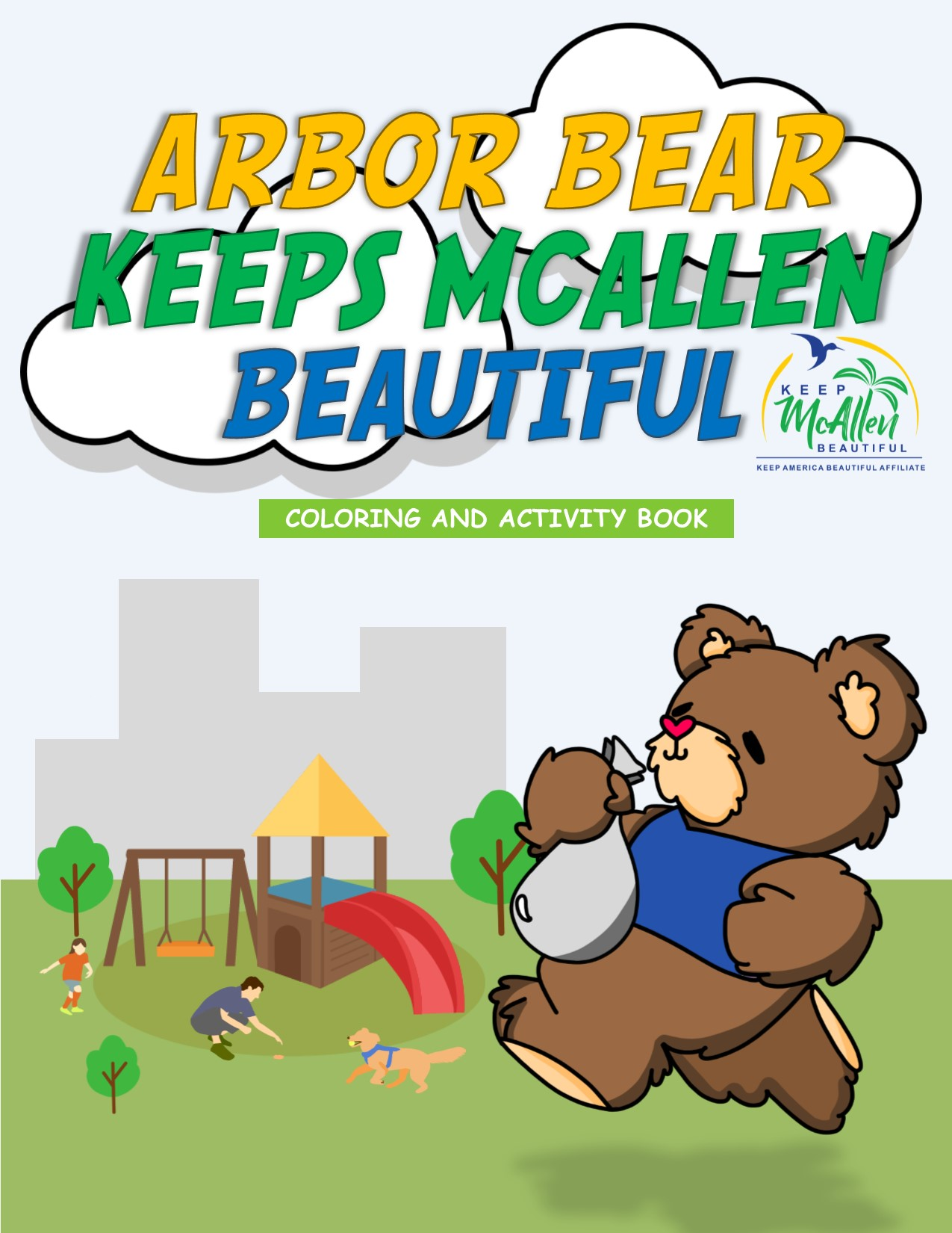 Arbor Bear Keeps McAllen Beautiful Original