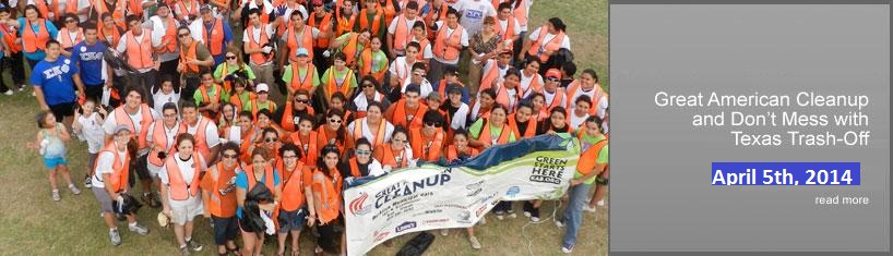 Great American Cleanup 2014